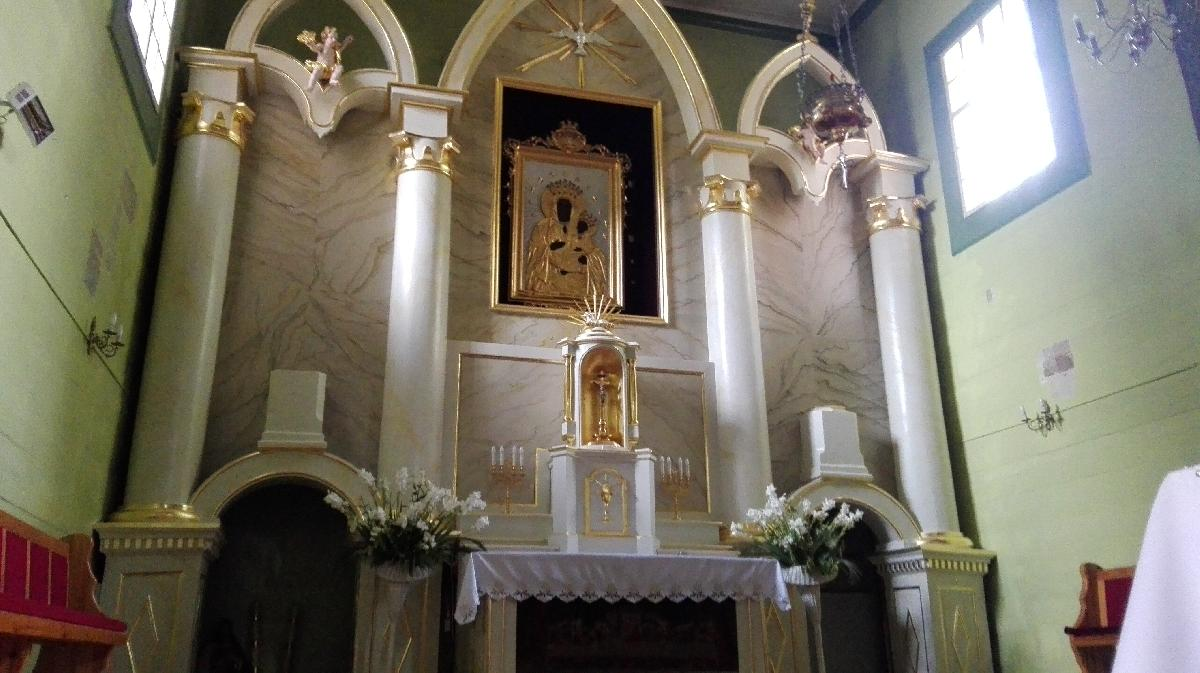 | Zdjęcie dotyczy Odnowiony ołtarz kościoła w Warszawicach zostało dodane przez Sebastian  Rębkowski - blog - w dniu 2019-08-13 id nr: 3204801 |