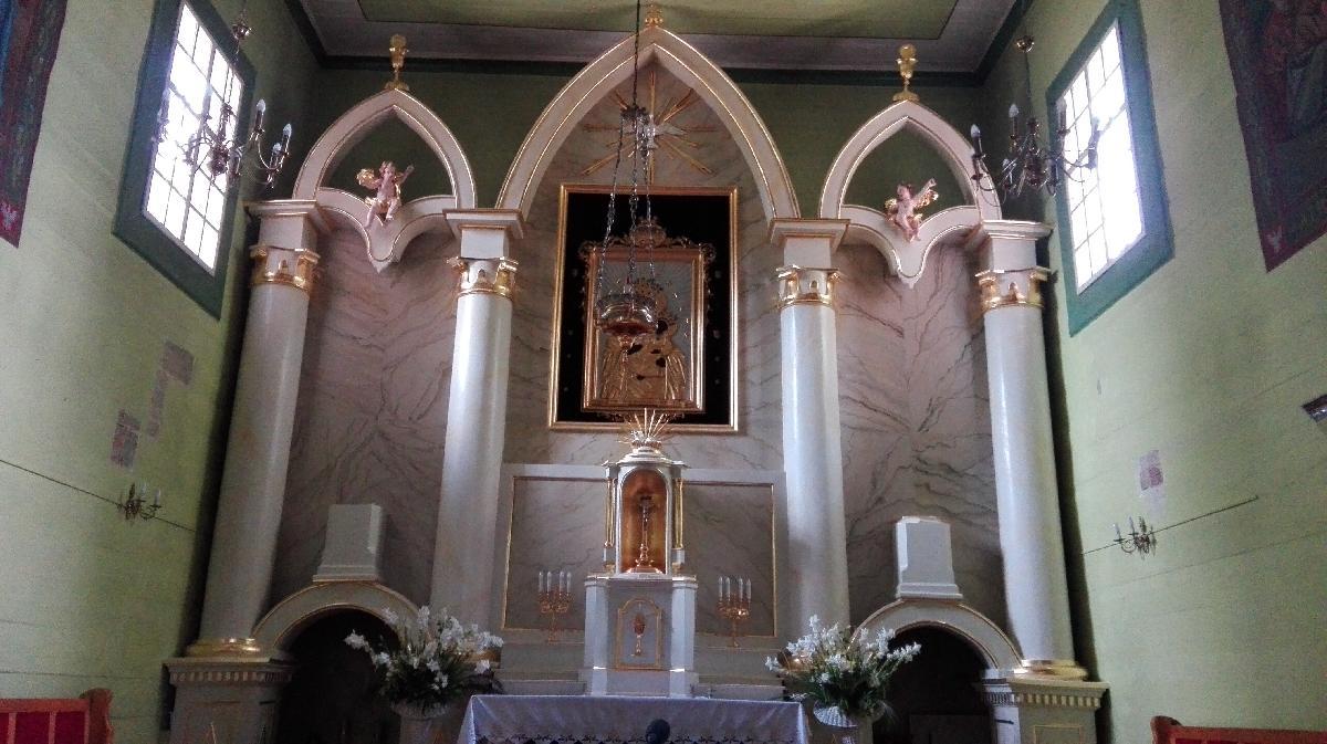 | Zdjęcie dotyczy Odnowiony ołtarz kościoła w Warszawicach zostało dodane przez Sebastian  Rębkowski - blog - w dniu 2019-08-13 id nr: 3204803 |
