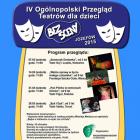 IV Ogólnopolski Przegląd Teatrów dla dzieci